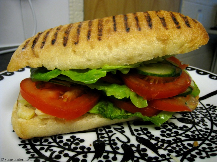 Salad Panini lunch